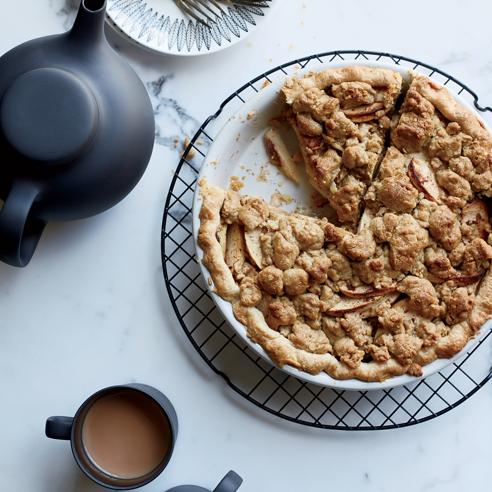 Mountain Rose Apple Pie
