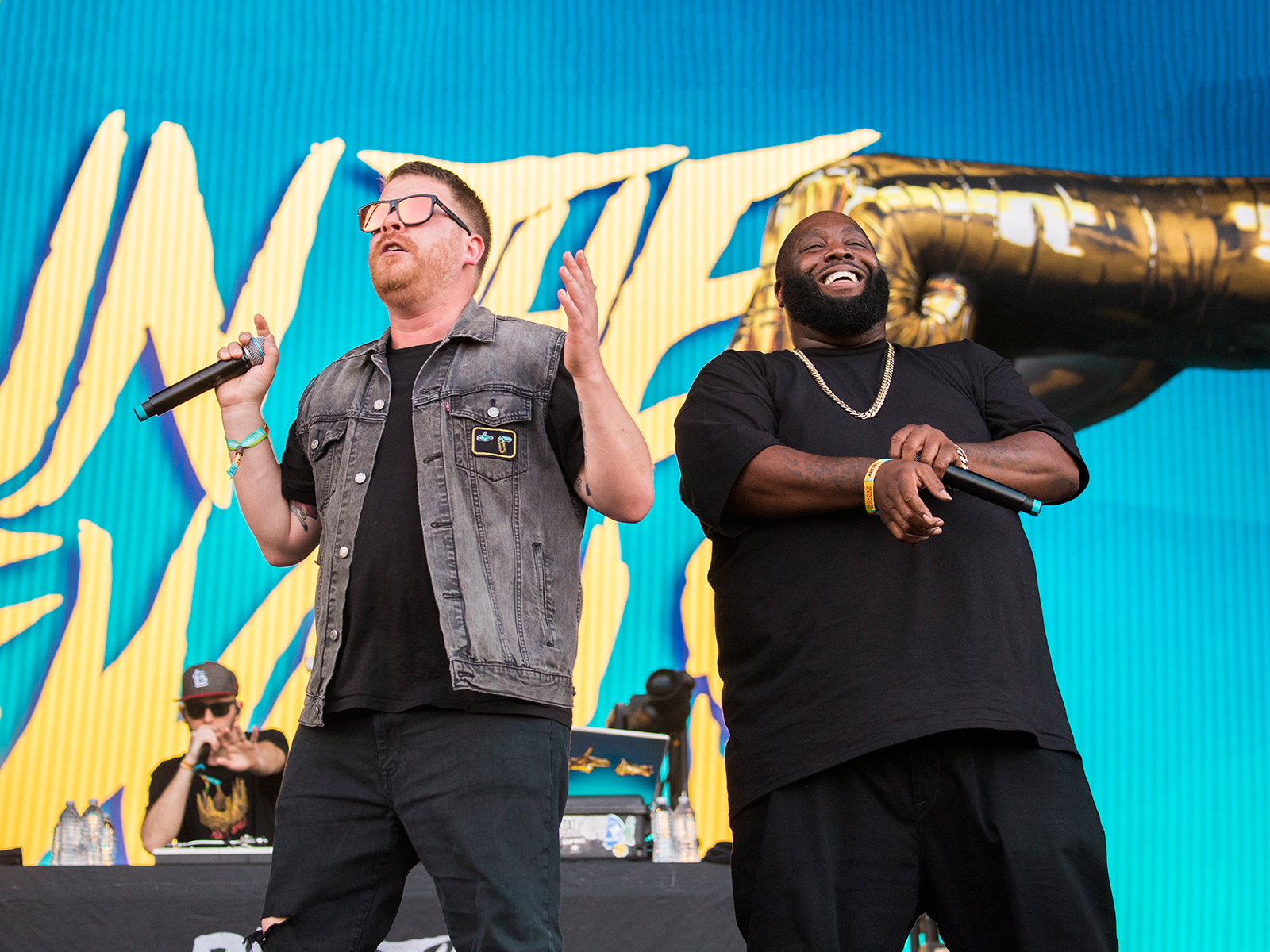 Run The Jewels Paired with 'Diners, Drive-Ins and Dives' Works Better Than You Might Expect