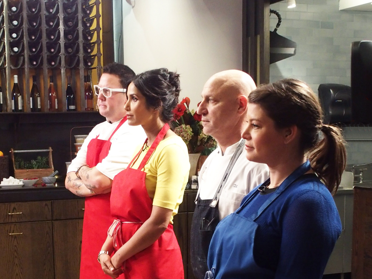The 'Top Chef' Judges on Competing In Their Own Quickfire Challenge for the First Time Ever