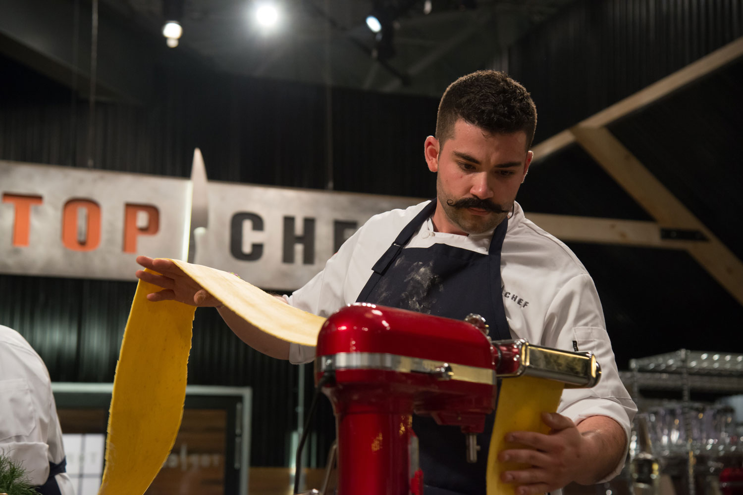 Chef Joe Sasto on the premiere of Top Chef.