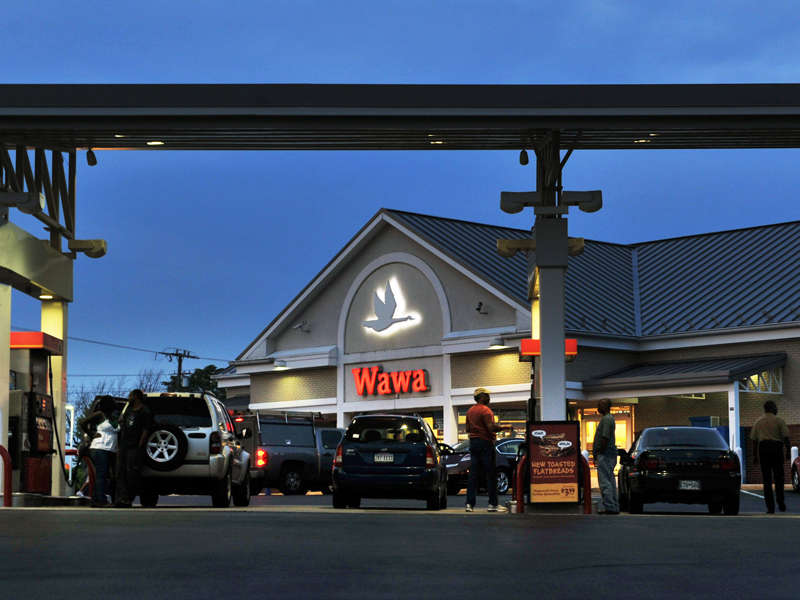 Wawa Is Doubling Its Number of Tesla Charging Stations
