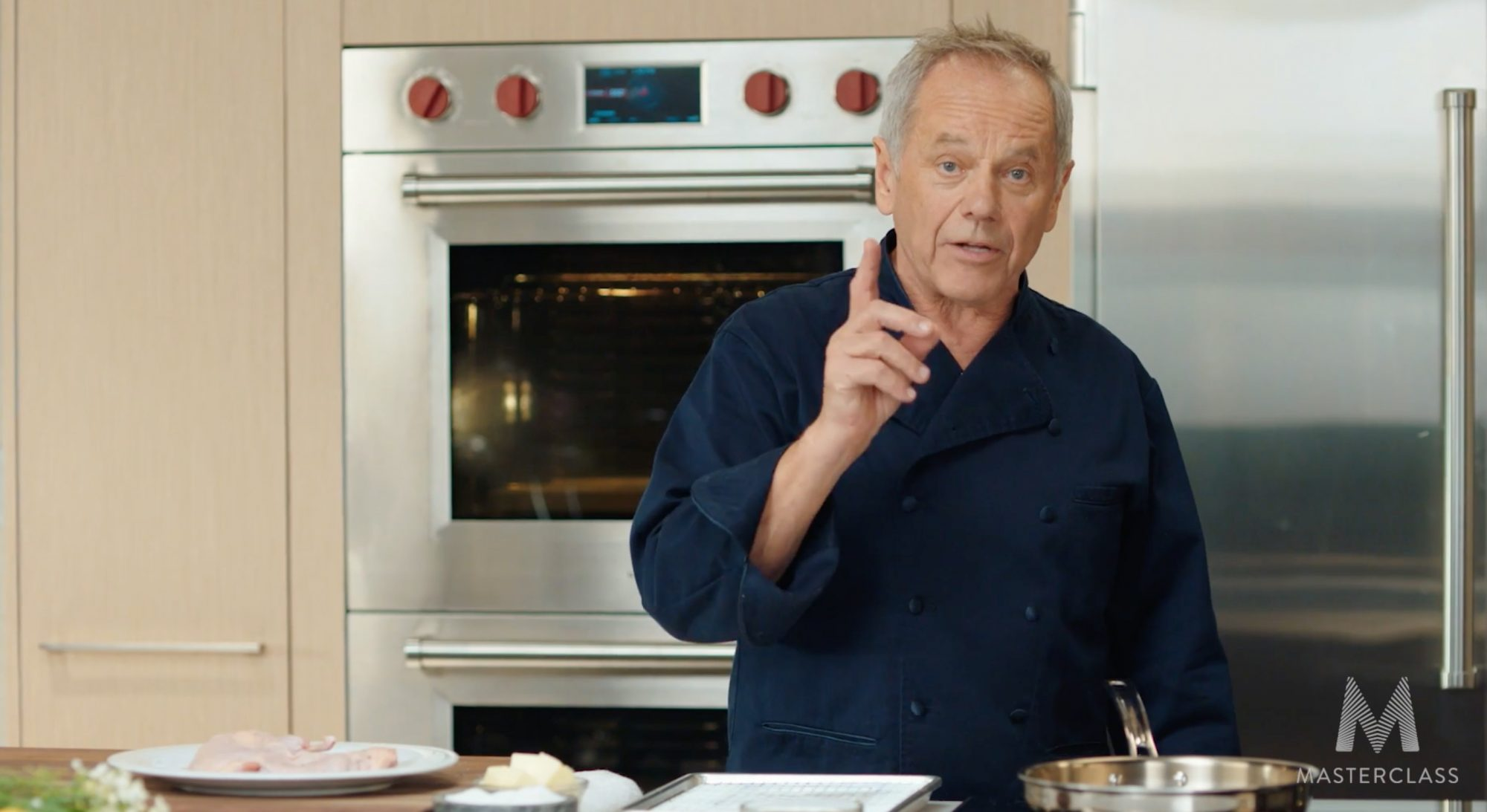 Wolfgang Puck's New MasterClass Will Make You 'Fearless' in the Kitchen