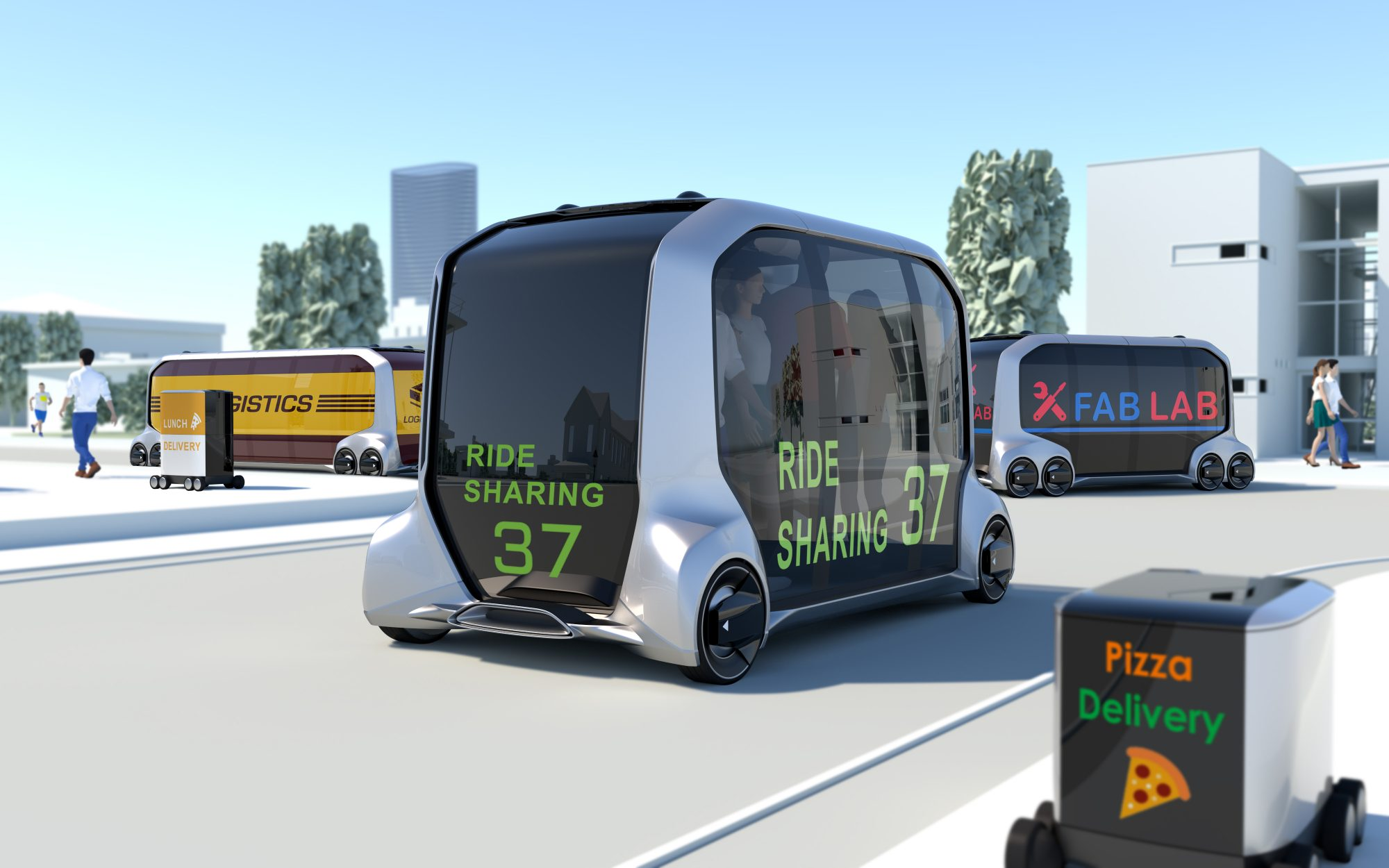 Toyota Working With Amazon, Uber, and Pizza Hut to Develop Self-Driving Shuttle