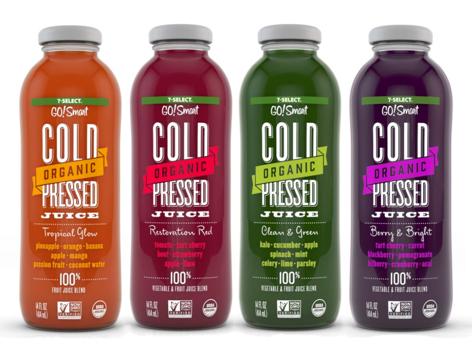 7-Eleven Launches Its Own Line of Organic, Cold-Pressed Juices