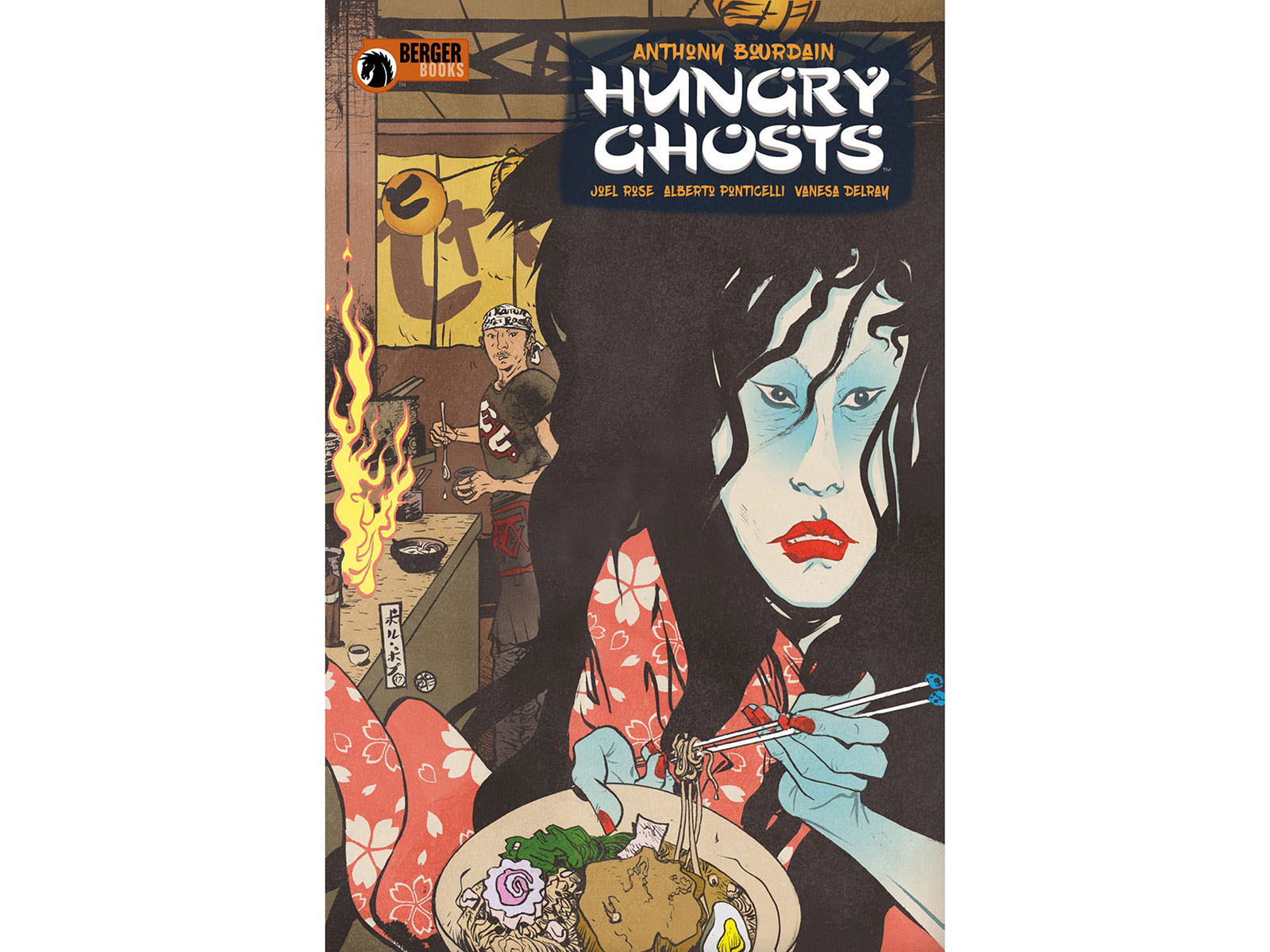 Anthony Bourdain's 'Hungry Ghosts' Graphic Novels in Development as TV Series
