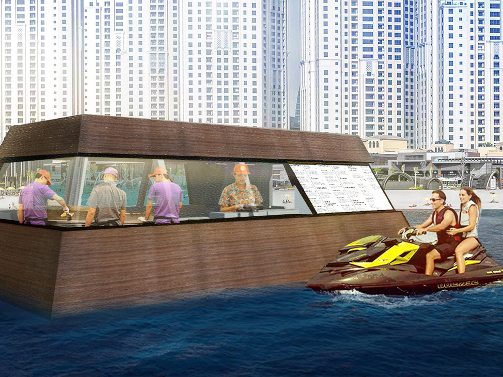 aqua pod in dubai