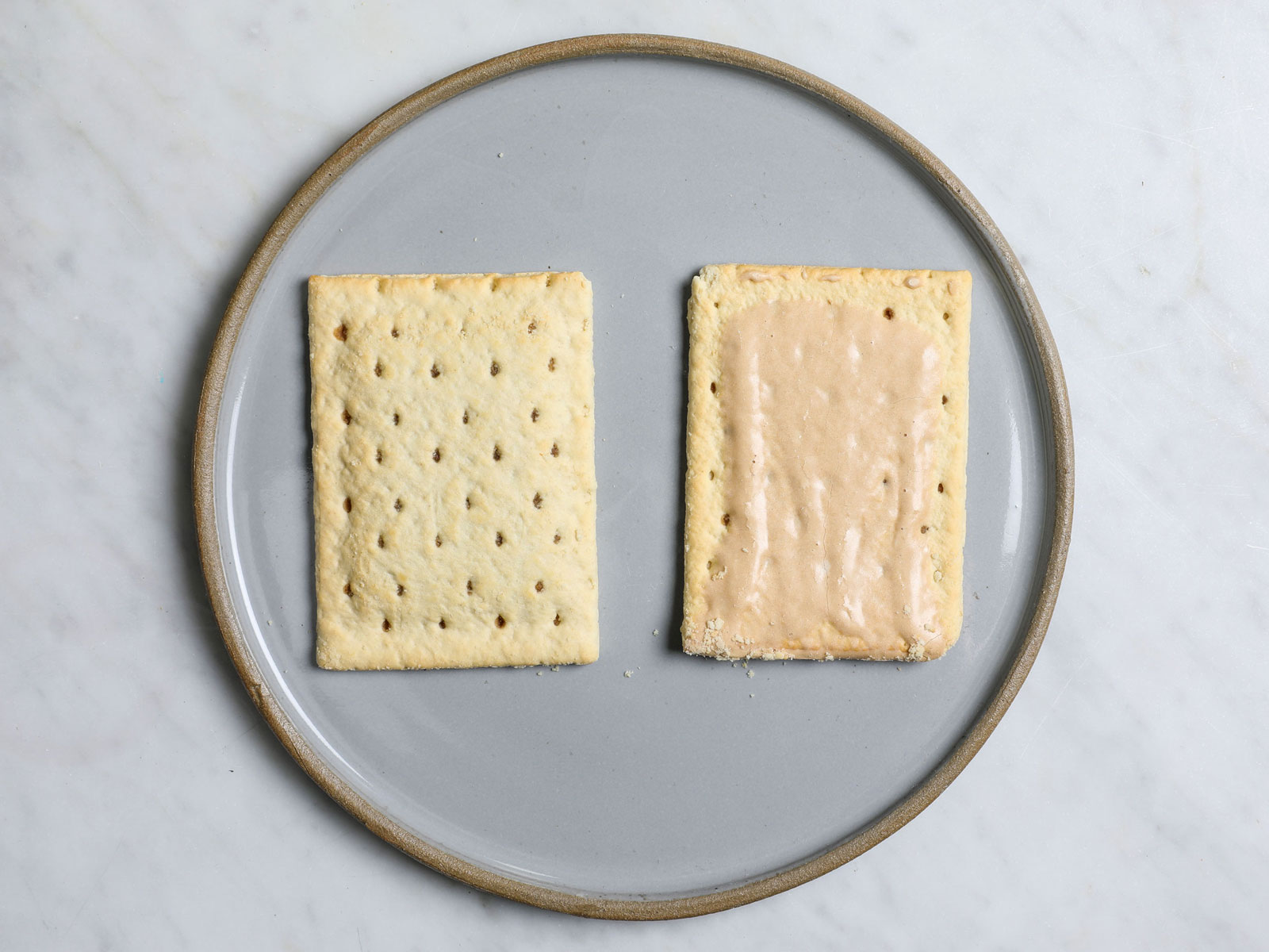 Frosted and Unfrosted Brown Sugar Poptarts