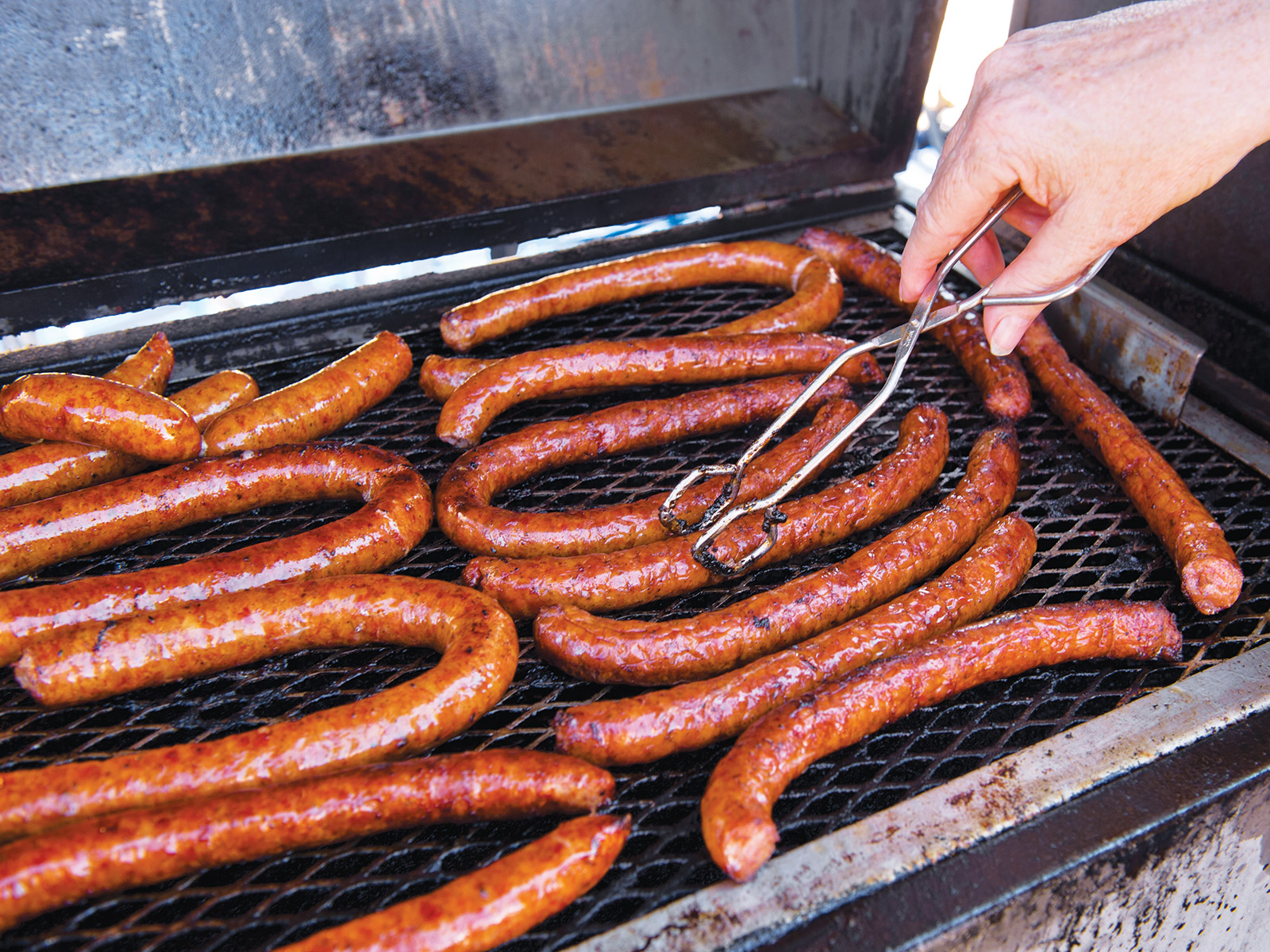 grilled sausages conecuh alabama