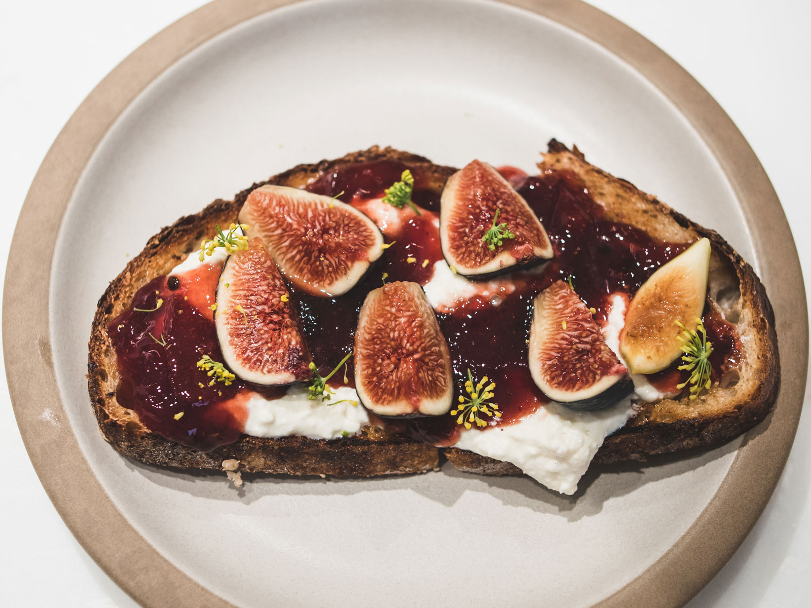 Fig Tartine