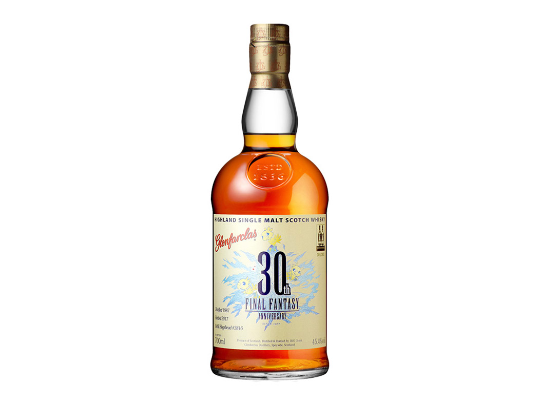 final fantasy whisky for anniversary