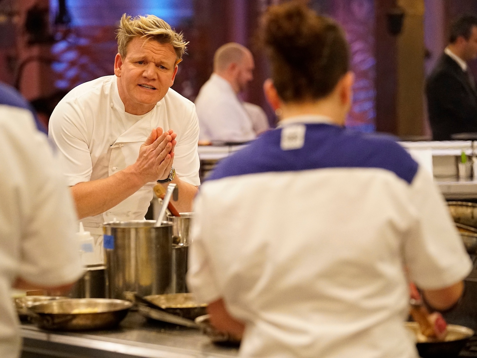 On Hell S Kitchen All Stars Gordon Ramsay Chooses Who