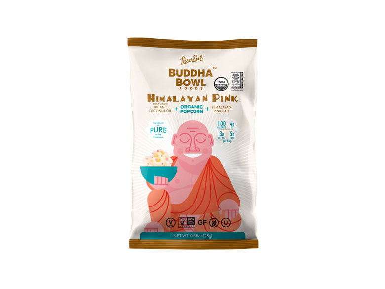Himalayan Pink Salt Single Serve Popcorn