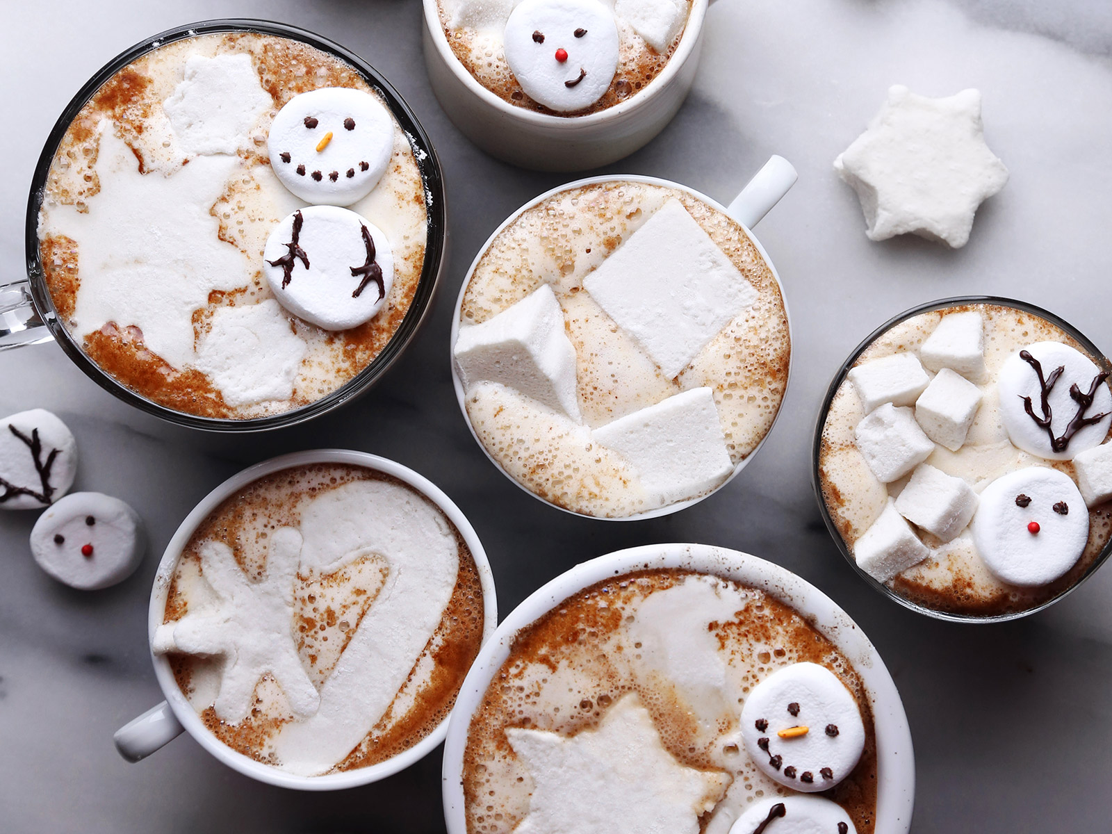 hot chocolate creations