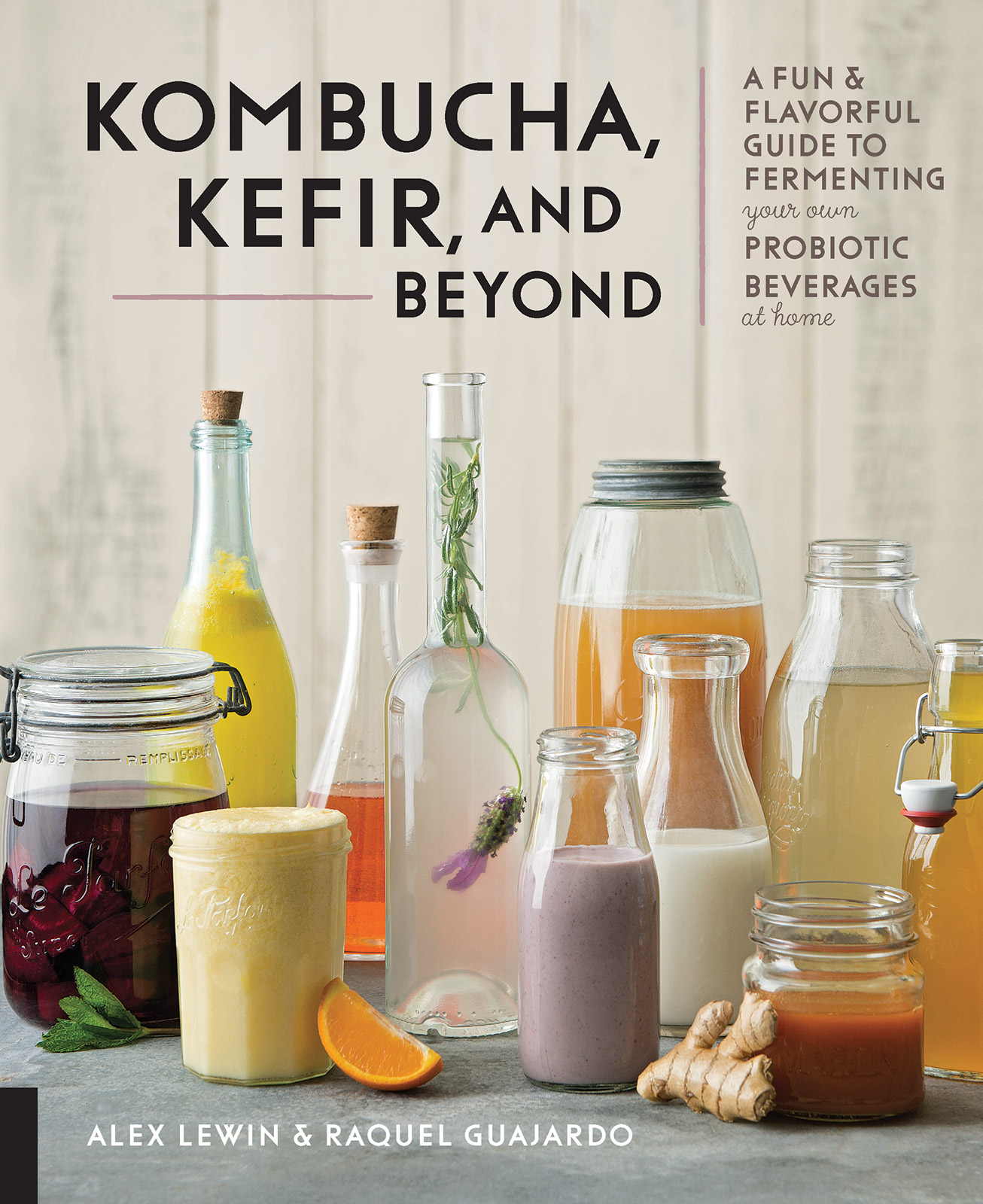 kombucha beyond cookbook cover