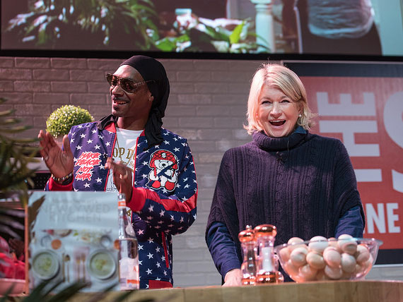 Martha Stewart Makes Brunch with Snoop Dogg and Talks Cookbooks, Cannabis and Cod