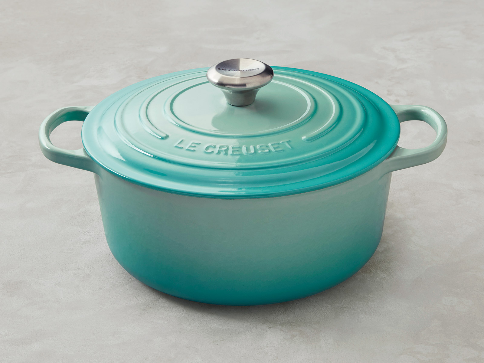 le creuset is launching a mint line that 39 s perfect for spring food wine. Black Bedroom Furniture Sets. Home Design Ideas