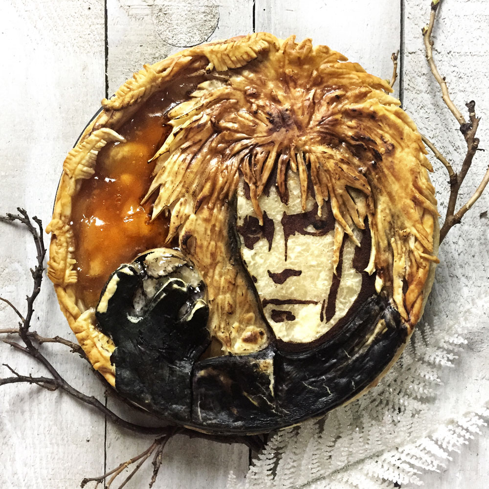 David Bowie Pie