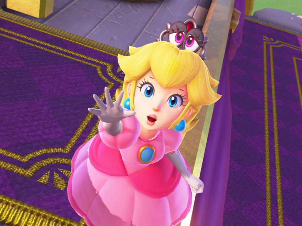 princess peach tea drinker pop culture video games