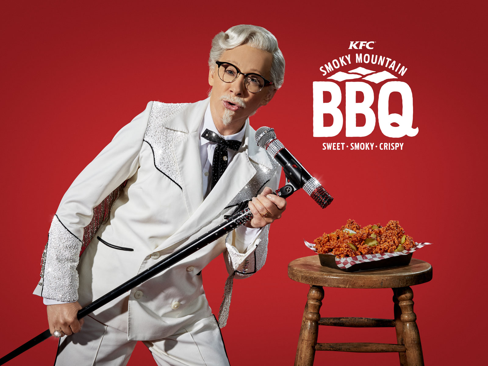 Reba McEntire as Colonel Sanders