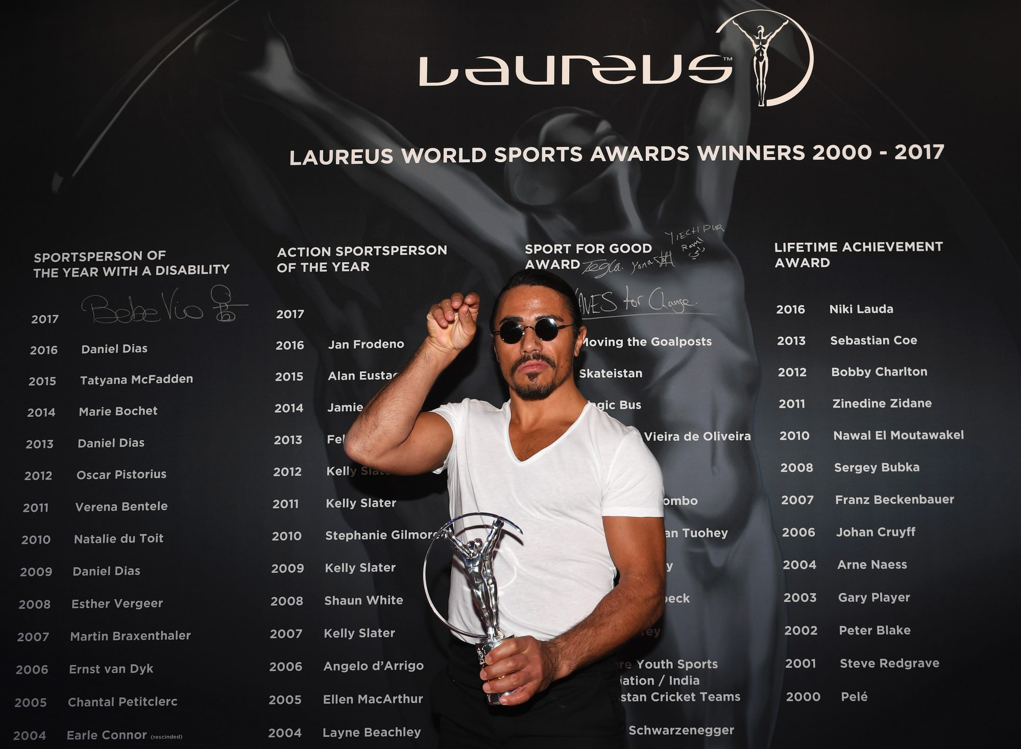 Show - 2017 Laureus World Sports Awards - Monaco