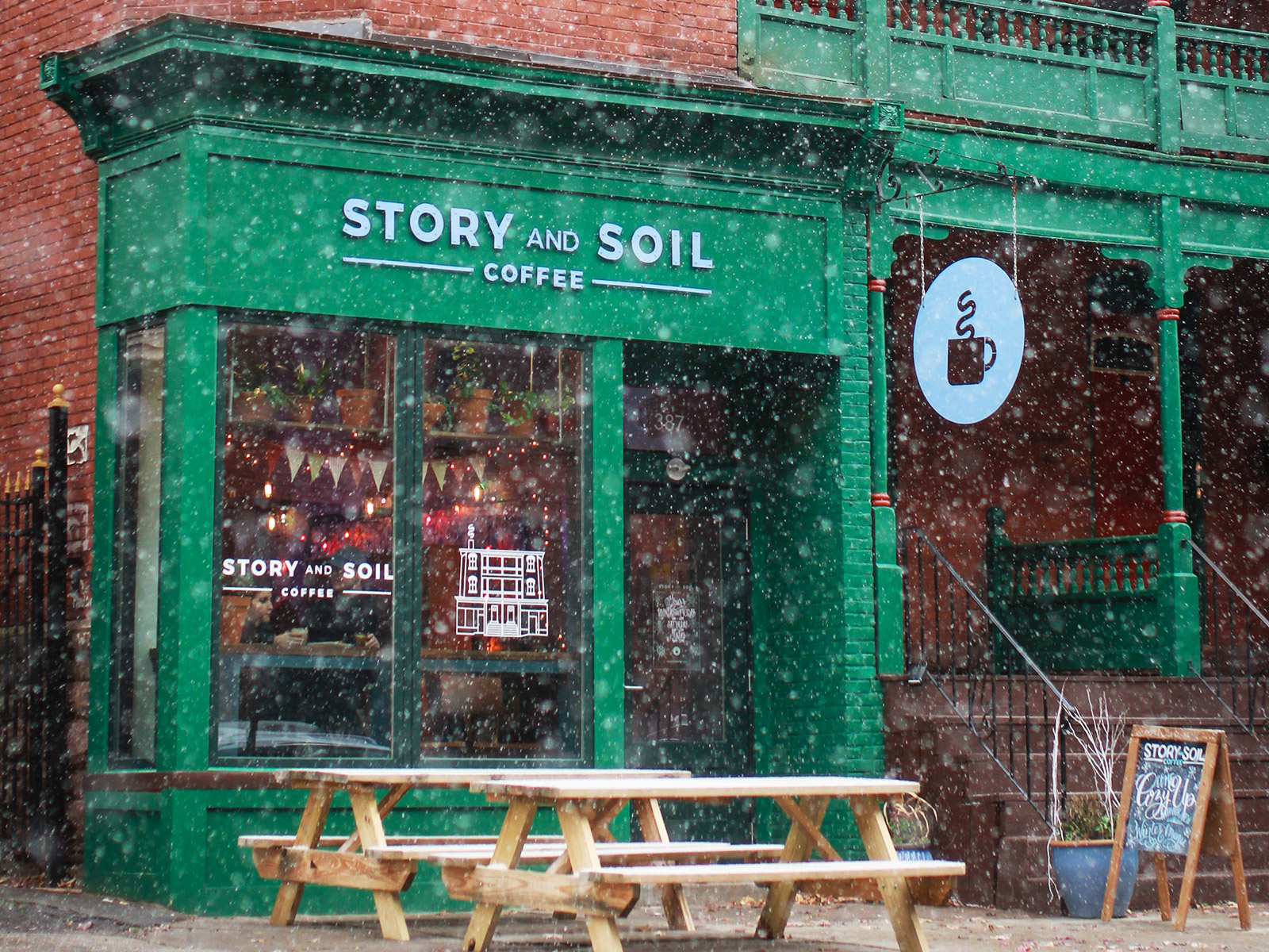 story and soil exterior
