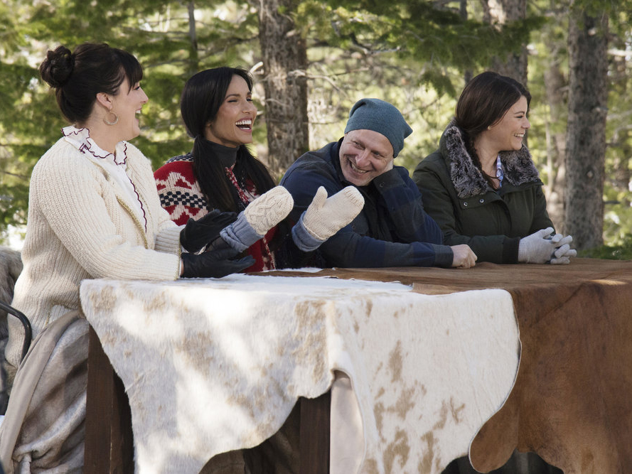 The judges are excited to try some elevated rustic cuisine.