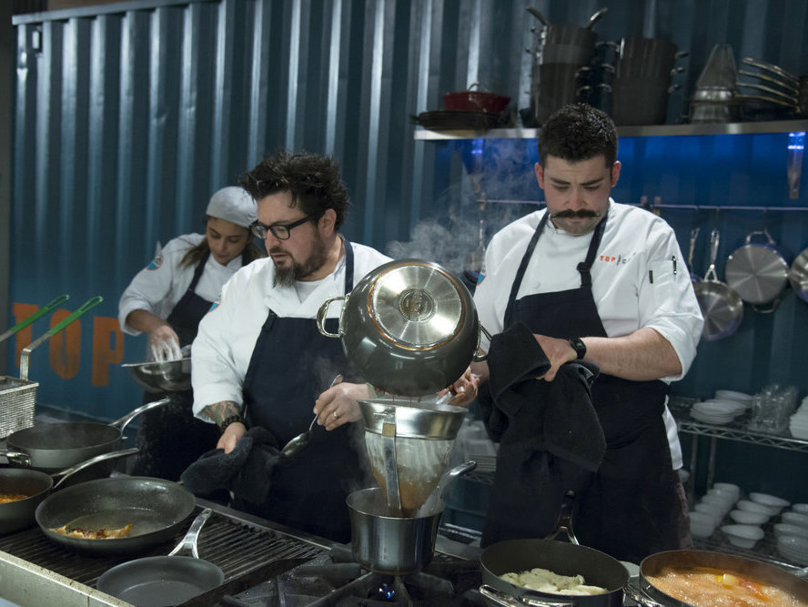 Bruce Kalman and Joe Sasto on Top Chef