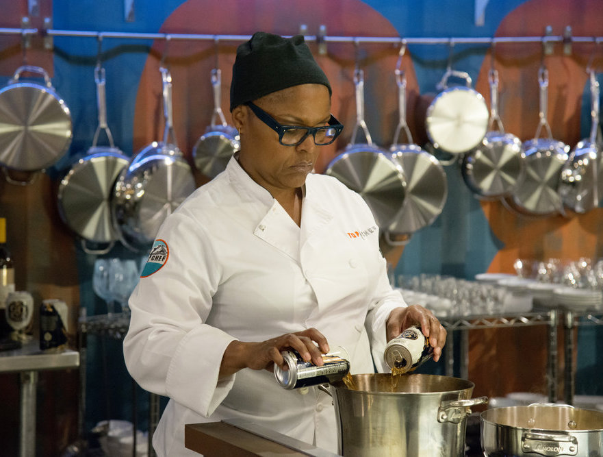 Tonya Holland on Top Chef