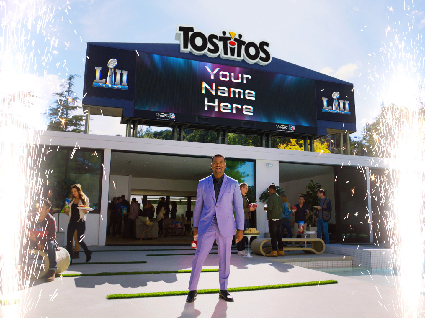 '90s Icon Alfonso Ribeiro Will Host Your Own Super Bowl Party Invitation