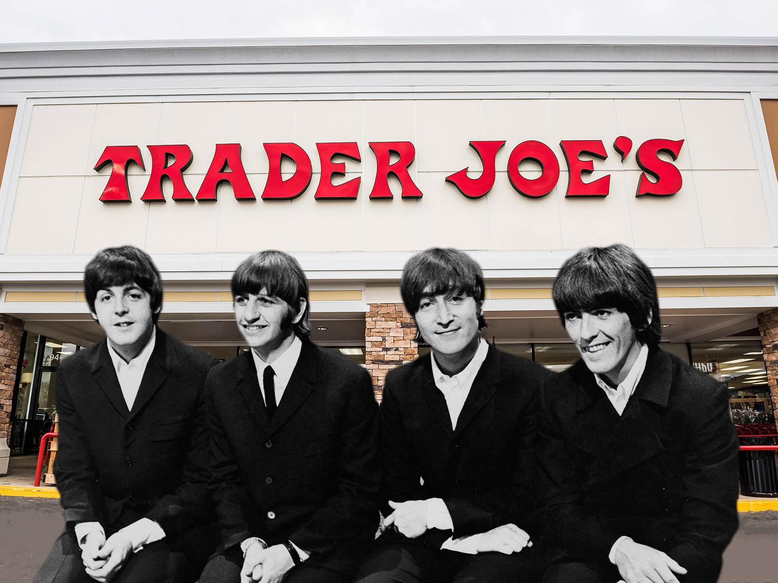 trader joes the beatles