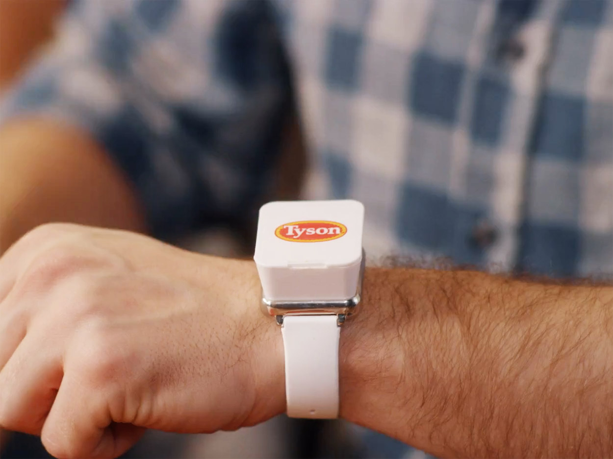 This Personal Dip-Holding Wristband Is Tyson Chicken's Solution to Double-Dipping