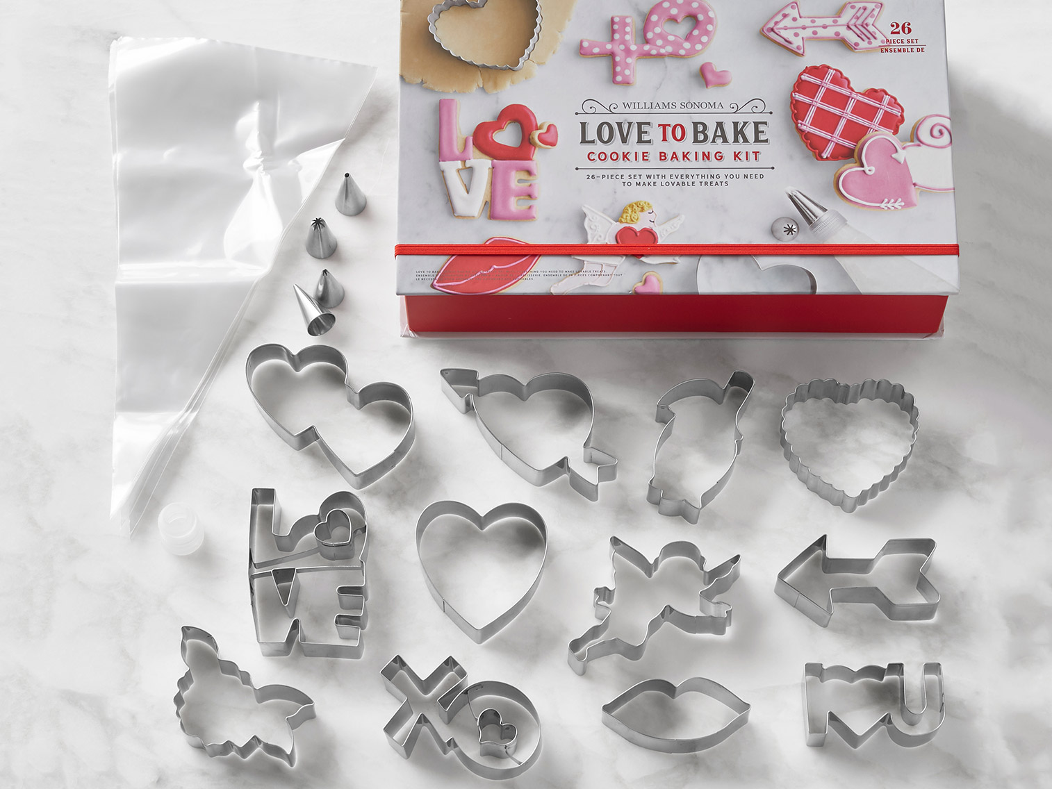 valentines day themed cookie cutters