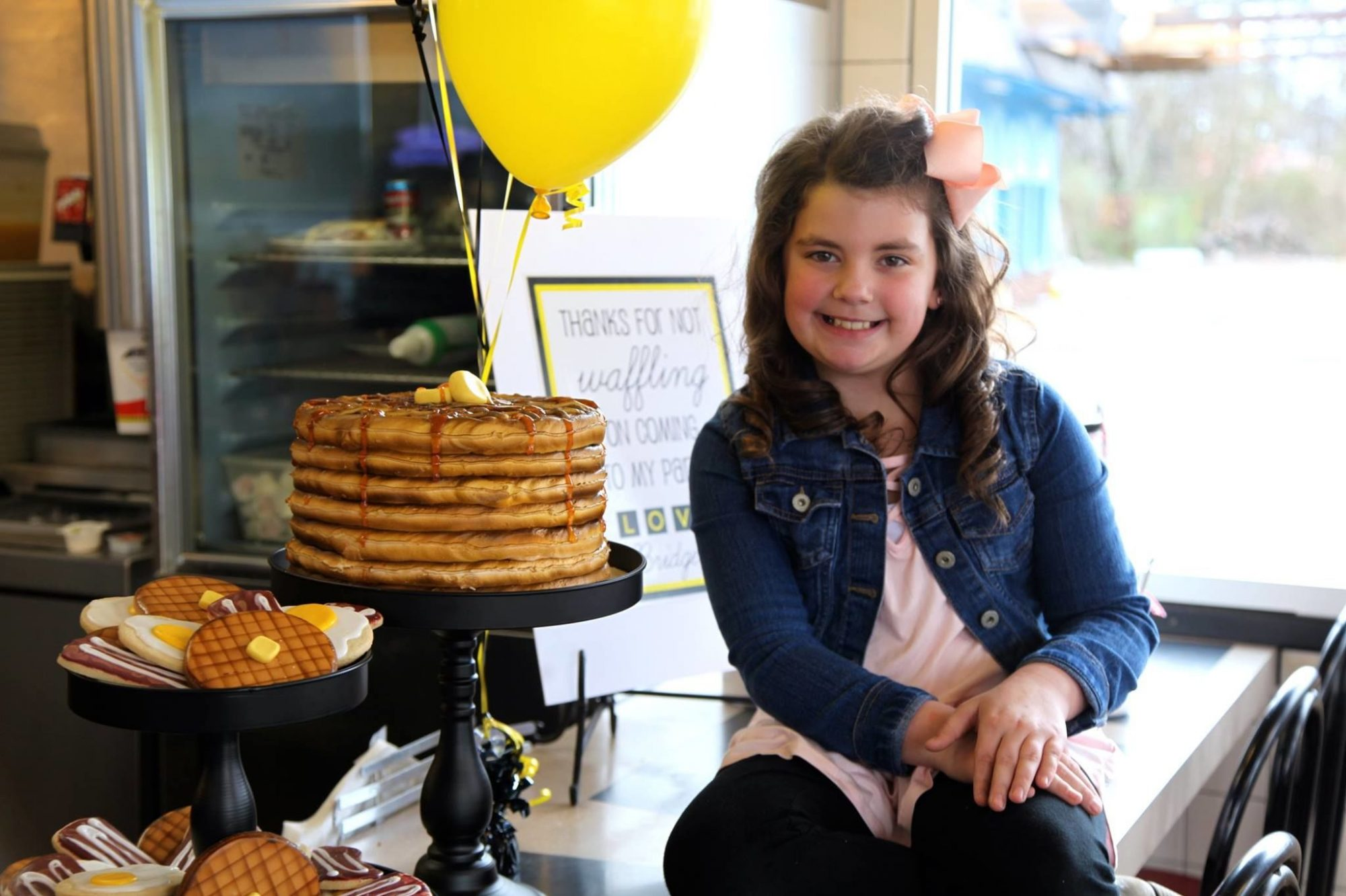 One Child Just Had the Most Epic 9th Birthday Party at Waffle House
