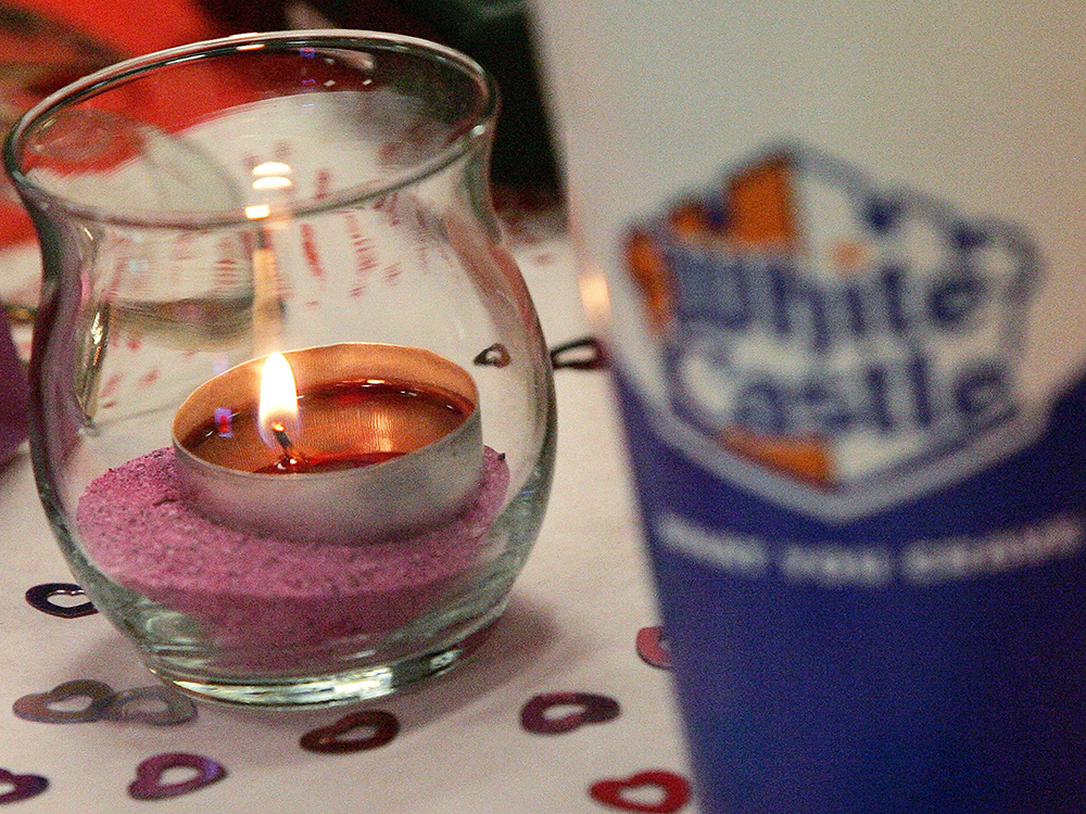 White Castle Valentine's Day Dinner