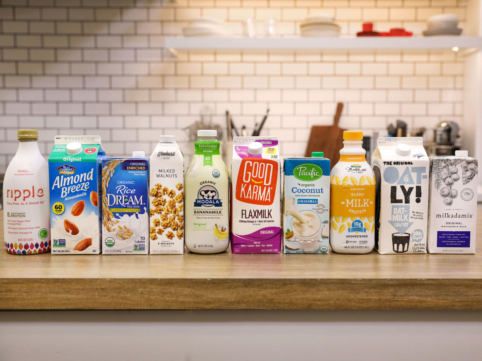 Non-Dairy Milk, Taste-Tested and Ranked