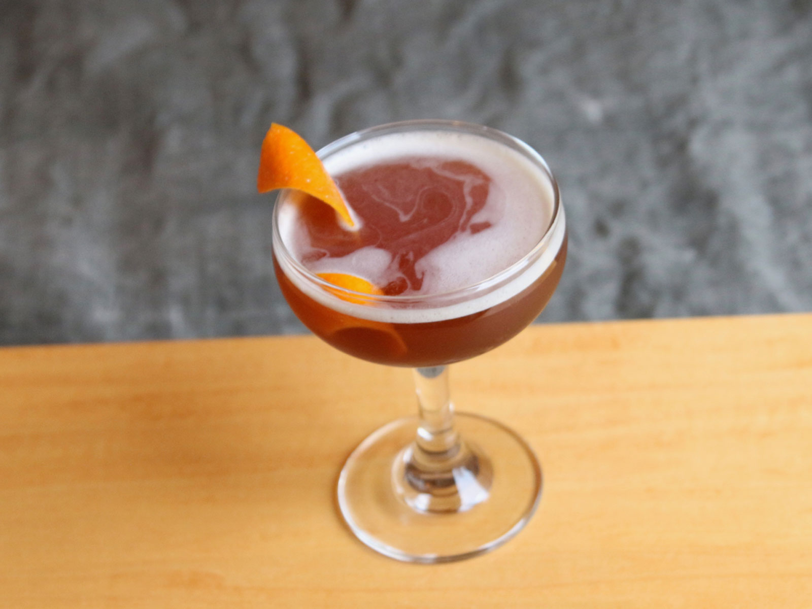 Amaro dell'etna cocktail