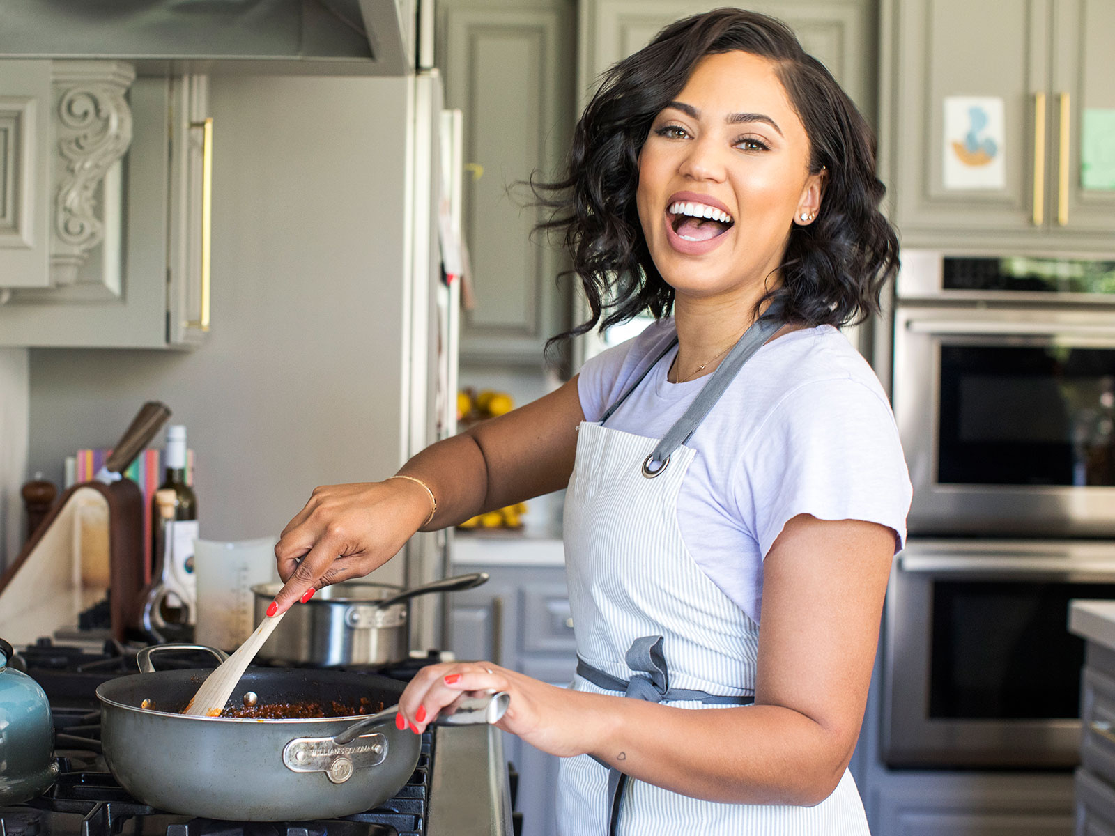 ayesha curry cooking