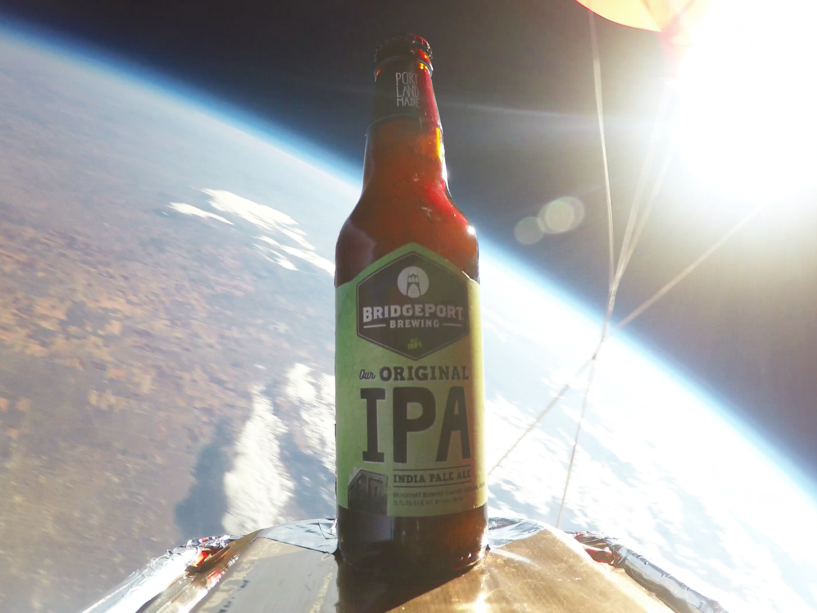 bridgeport brew in space