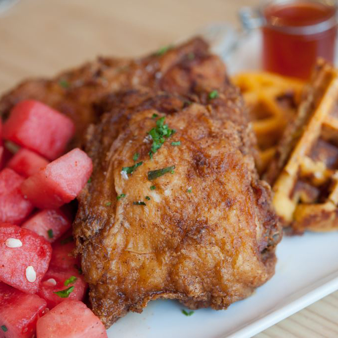Yardbird Chicken and Waffles