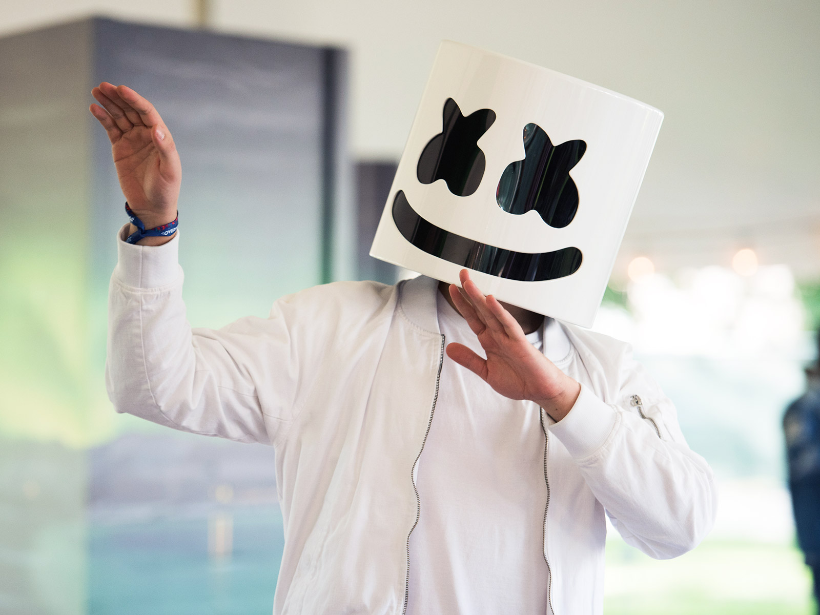 Electronic Music DJ Marshmello Has His Own Cooking Show on YouTube