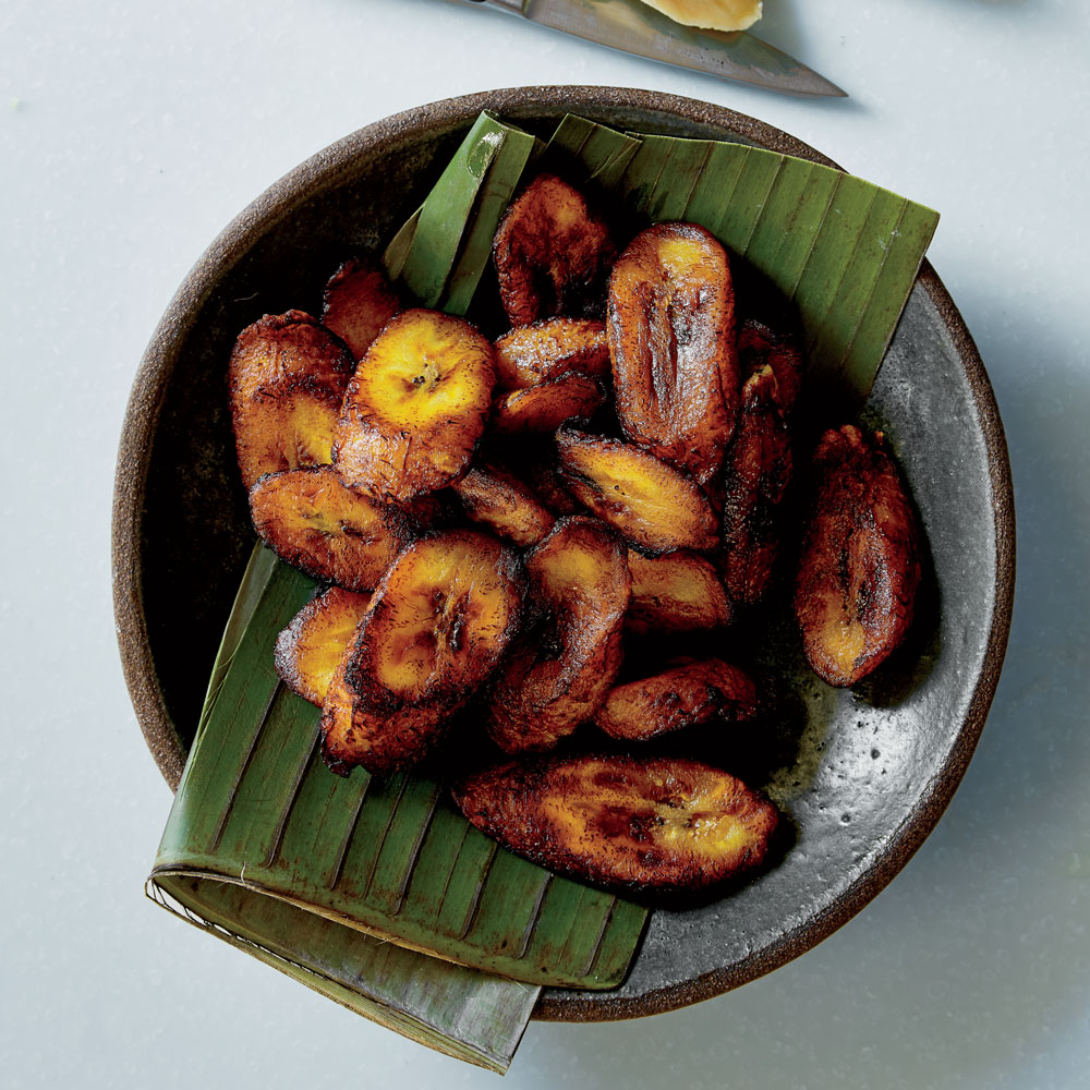 Crispy Fried Sweet Plantains