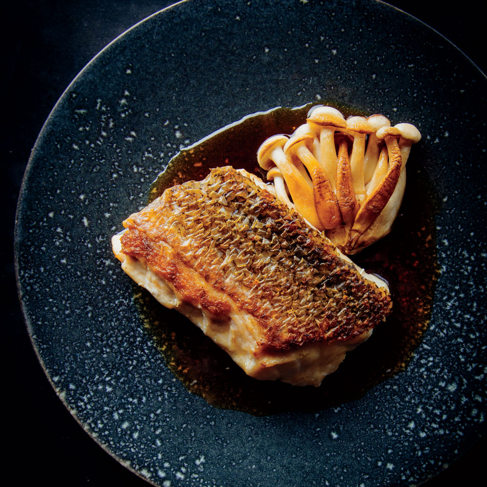 Crispy Tilefish with Ponzu Butter