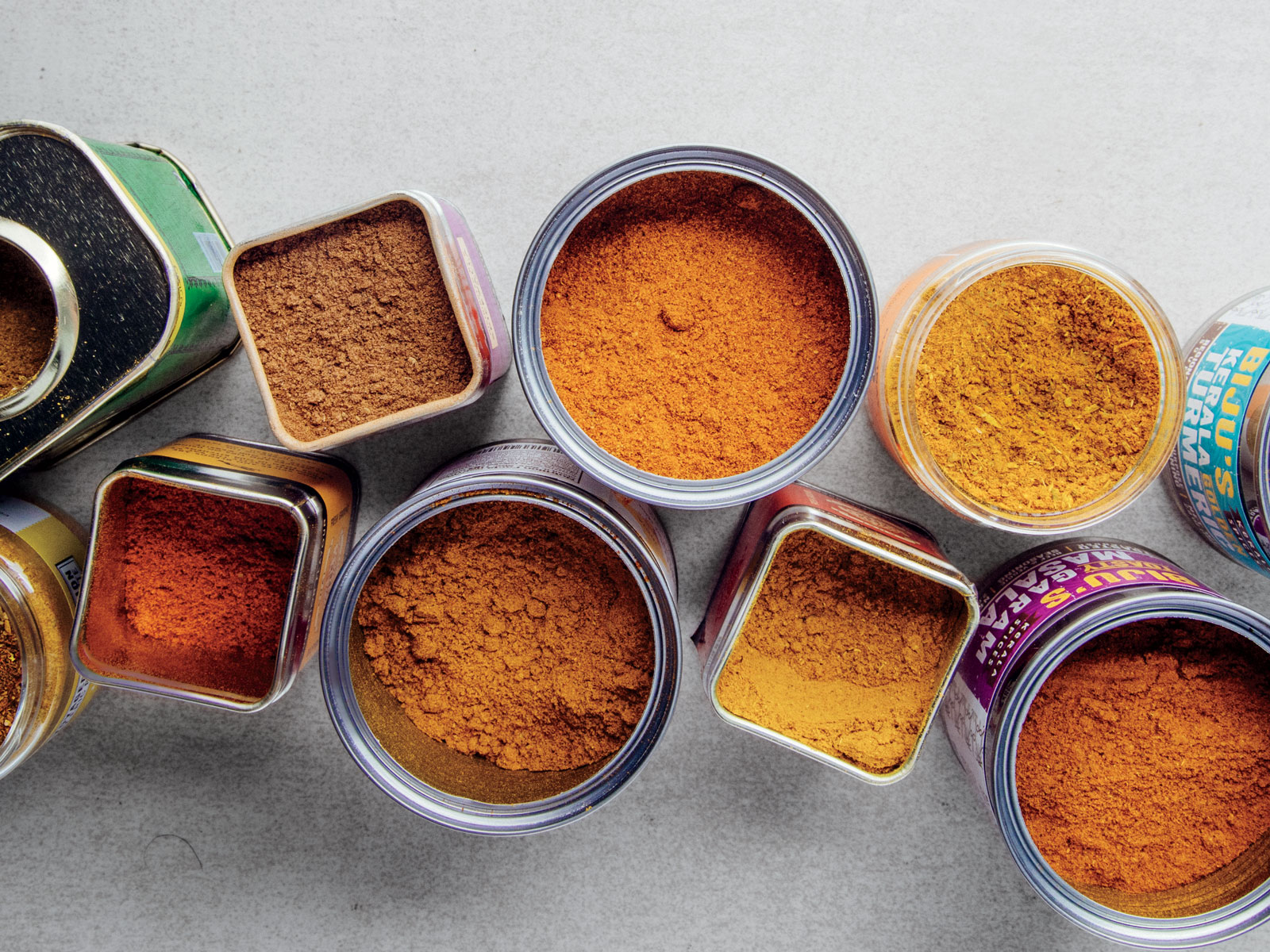 Curry Spice Blends