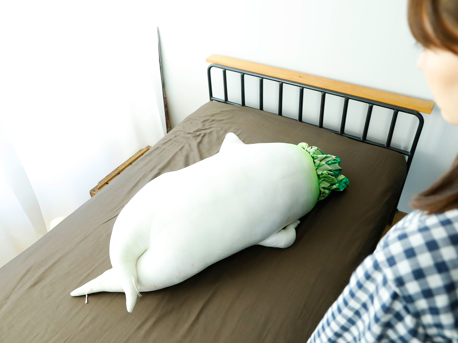 daiko radish body pillow