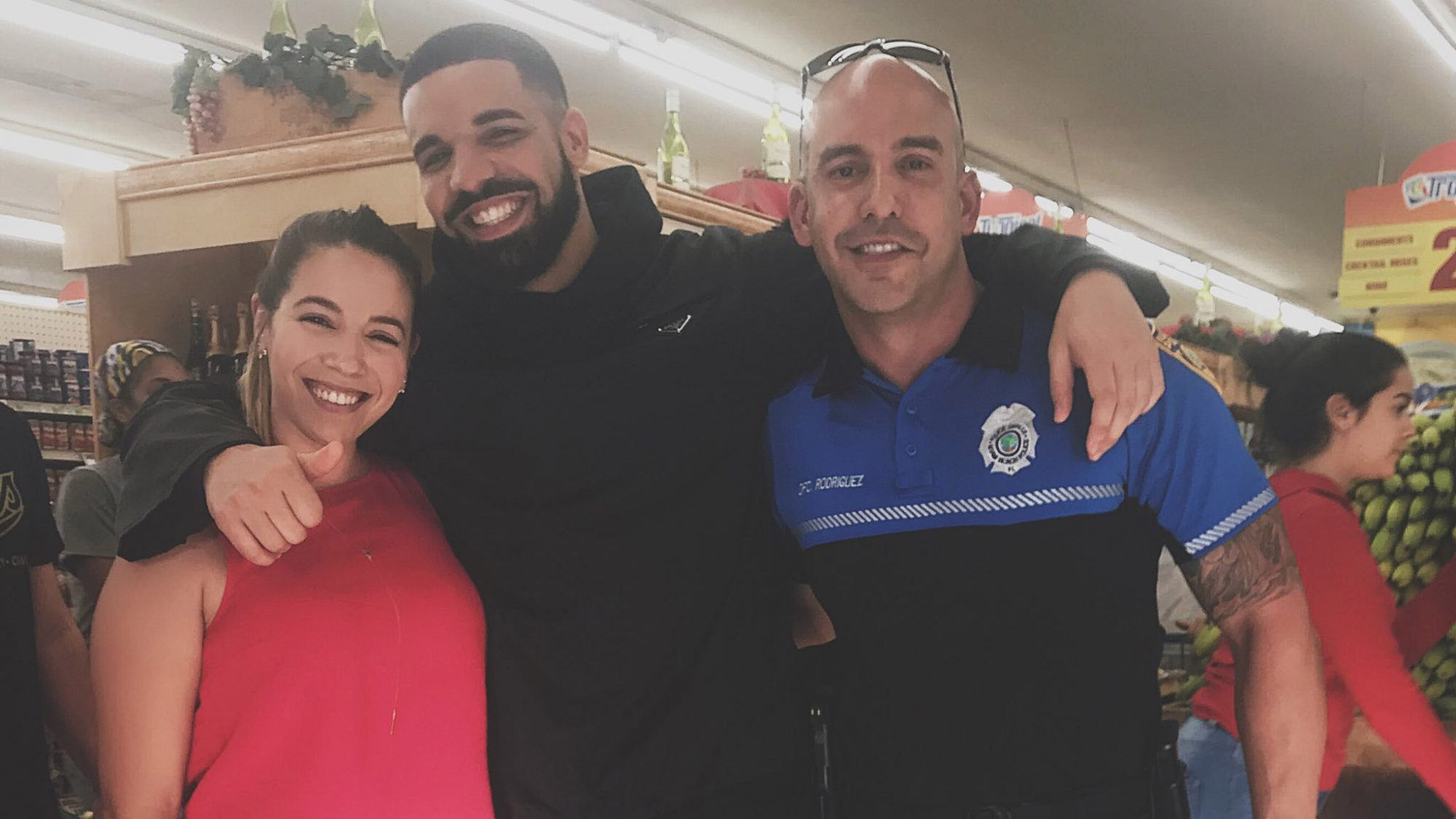 Drake Reportedly Bought $50,000 Worth of Groceries for Shoppers at a Miami Supermarket