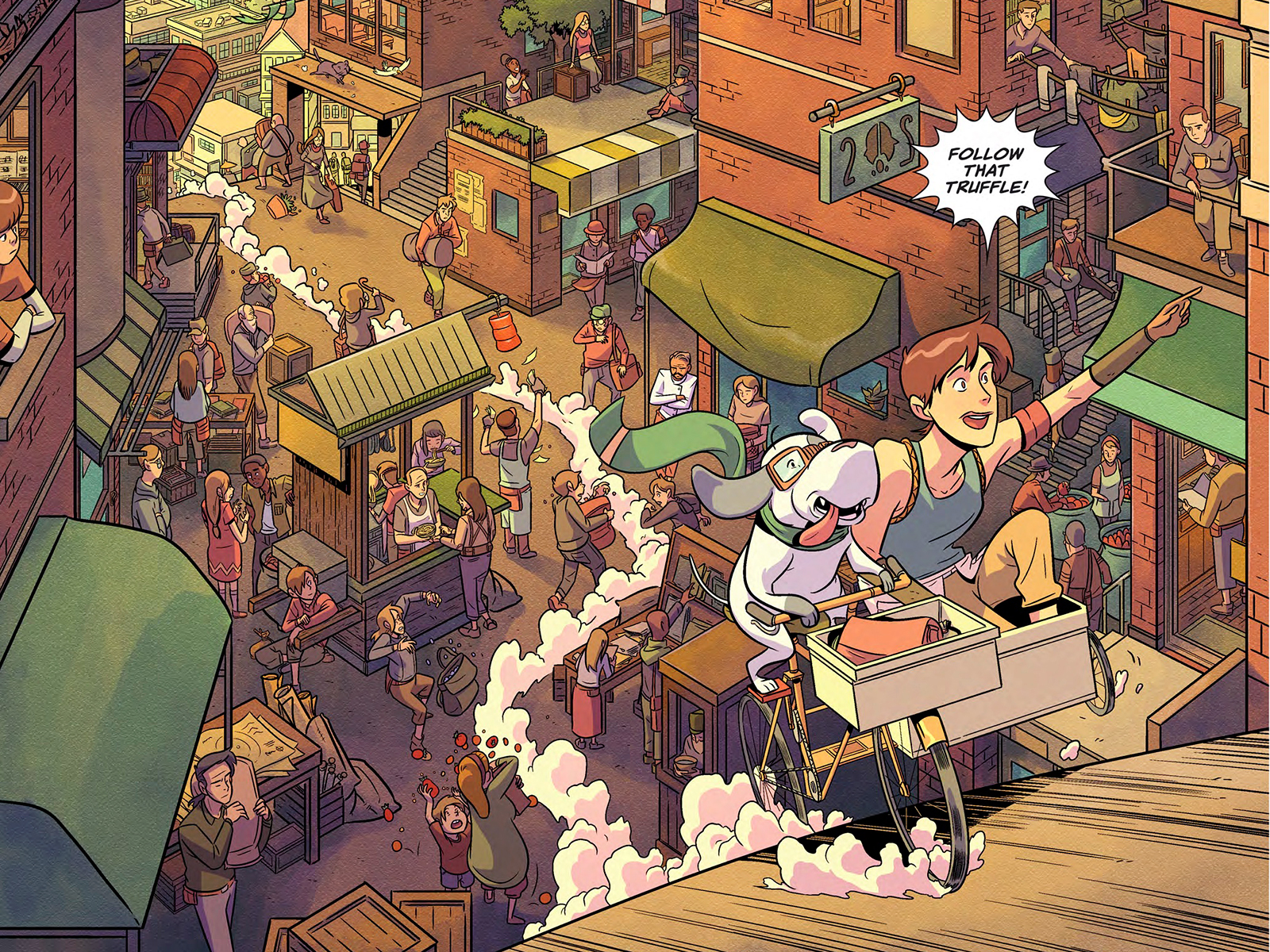 Comic Book Series 'Flavor' Puts Chefs at the Center of a 'Hunger Games'-esque Mystery