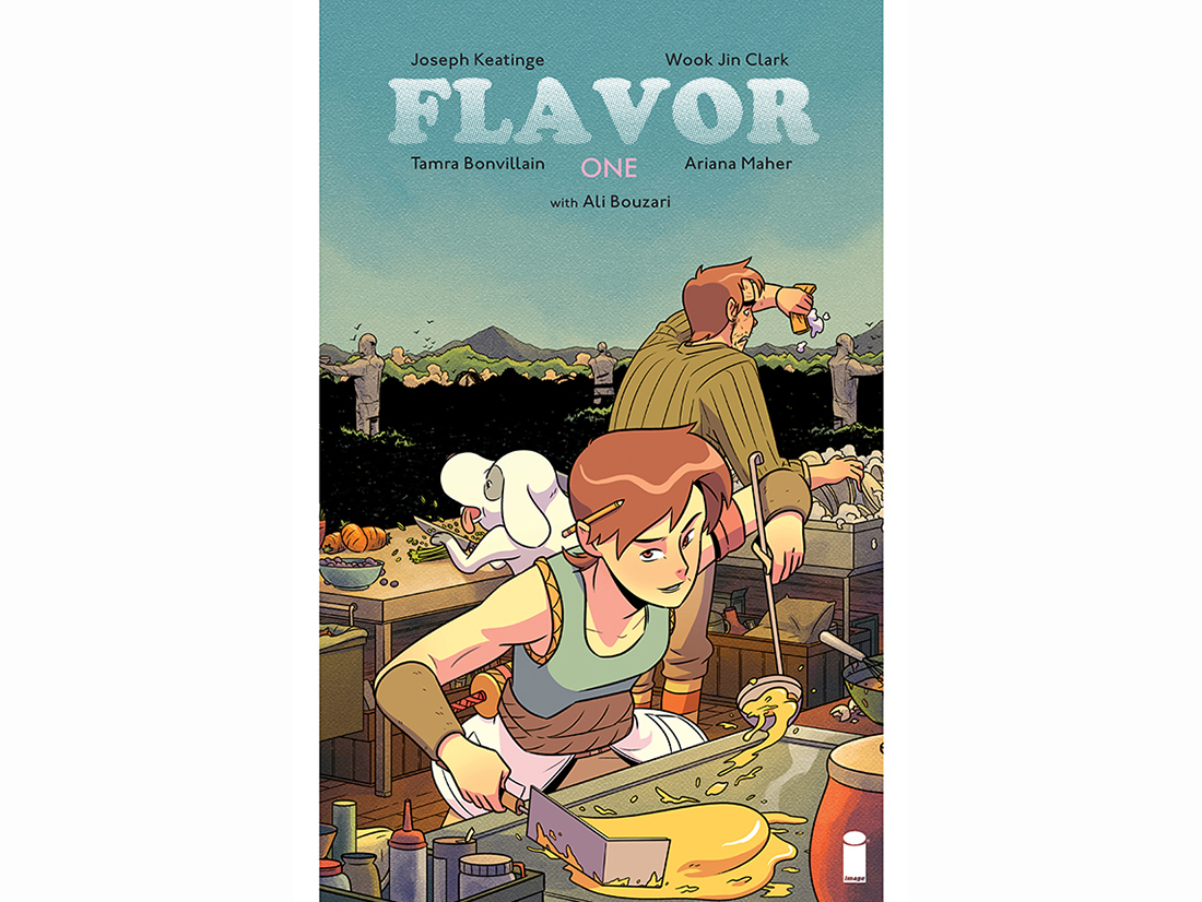 image comics food themed book flavor