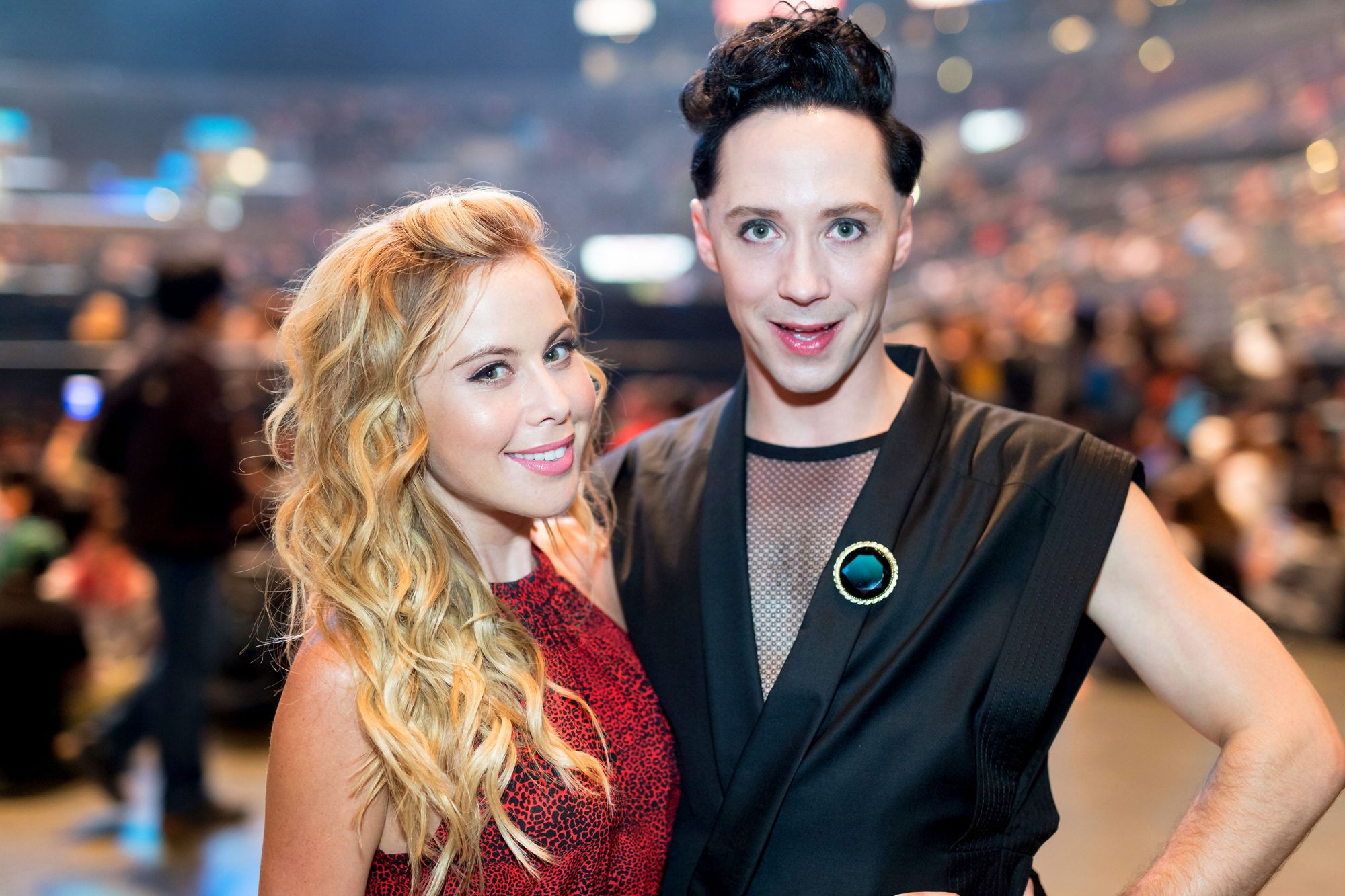 It's a party in Team USAwith these Olympian hosting tips from Tara Lipinski and Johnny Weir