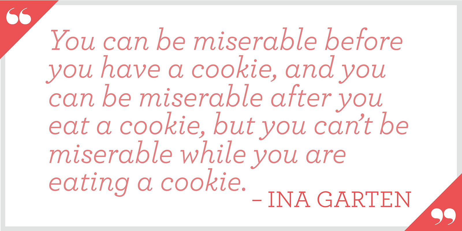 cookie quote card