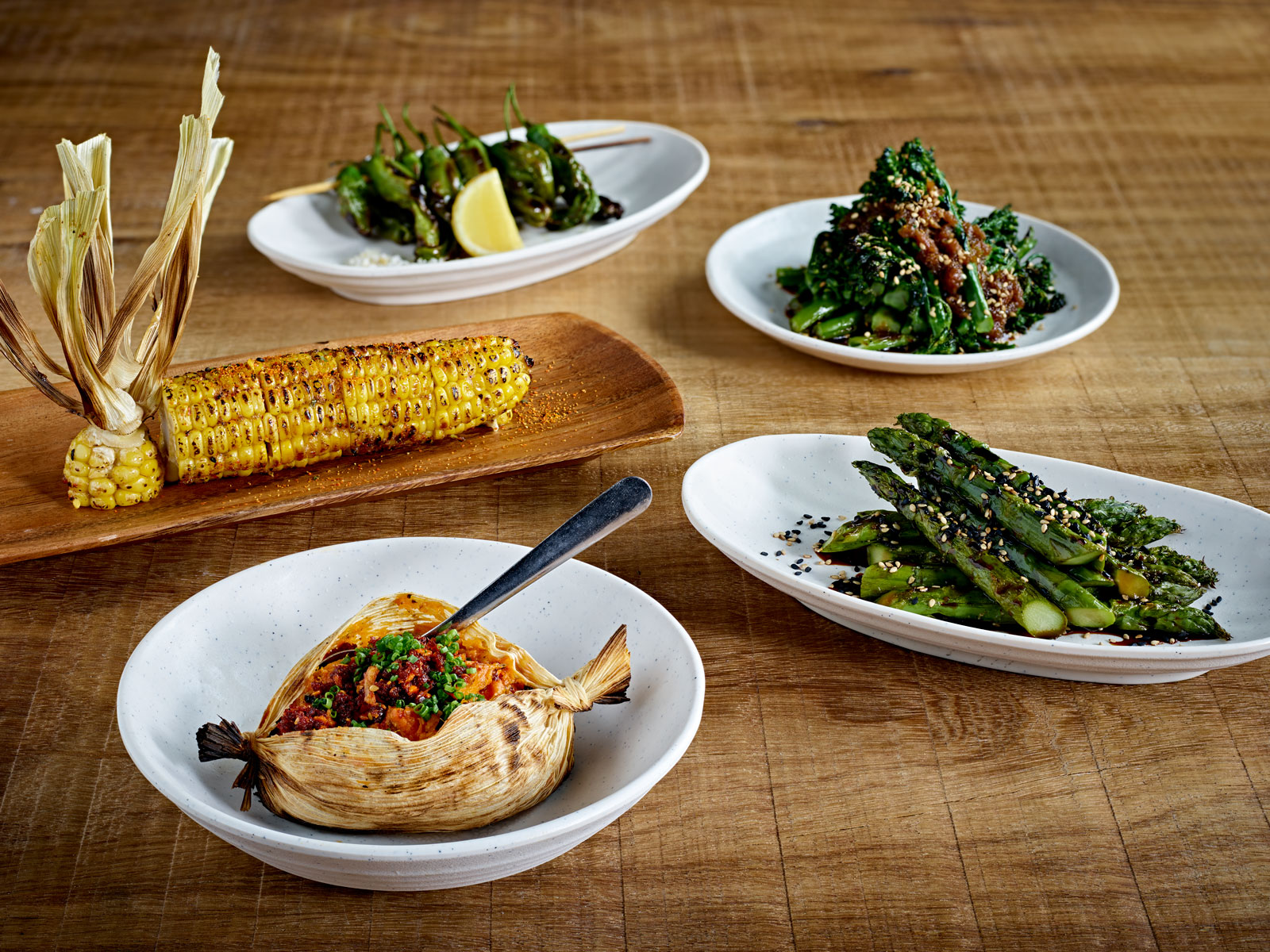 Vegetable Dishes at Inko Nito